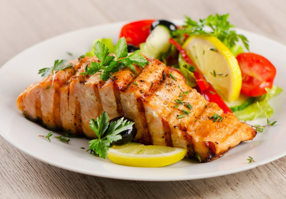 Sweet & Spicy Grilled BBQ Salmon